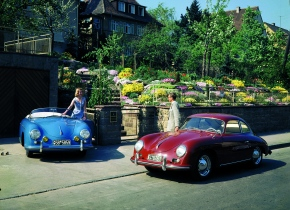 Iconic road cars from the1950s