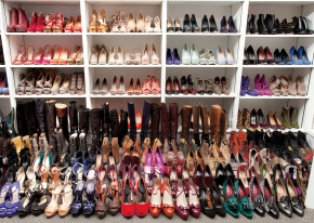 Storing shoes in smallspaces