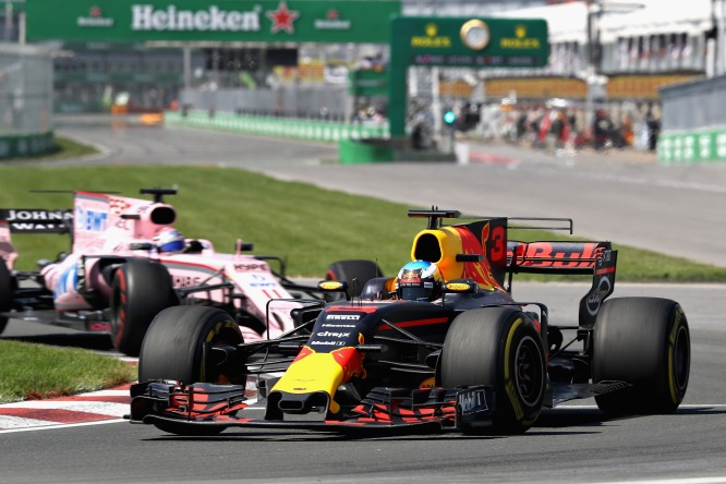 Red Bull leads Force India 2017 Canadian GP
